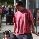 Adam Sandler And His Darling Daughters