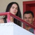 Megan Fox And Brian Austin Green Visit The Dentist