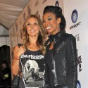 Audrina And Brandy Attend The Just Dance 2 Launch