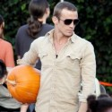 Cam Gigandet Takes Family To The Pumpkin Patch