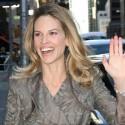 Hilary Swank Lookin' Lovely At Letterman