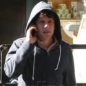 Jesse Eisenberg Strolls SoHo