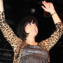 Lily Allen Performs On Stage