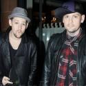 Benji And Joel Madden In London
