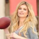 Marisa Miller Plays Football