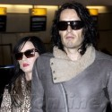 Russell And Katy Leave London For India