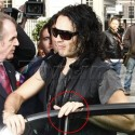 Russell Brand Wears Wedding Ring Early