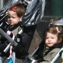 SJP And Her Twins In NYC