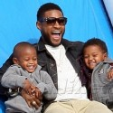Usher Ushers In Halloween Season With His Sons