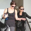 Ashley Greene And Nicole Richie Work Up A Sweat