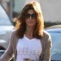 Elisabetta Canalis Shops In Beverly Hills