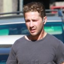 Shia LaBeouf And His Frumpy Gym Clothes