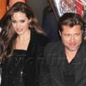 Brad Pitt And Angelina Jolie At The <em>Megamind</em> Premiere In Paris