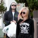 Avril Lavigne And Brody Jenner Hit Bristol Farms