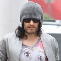 Russell Brand Heads To Yoga Class