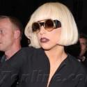 Lady Gaga Strikes A Pose