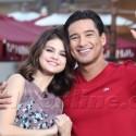 Ricky Martin And Selena Gomez At The Grove