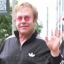 Elton John's Baby Boy Brightens His Day!