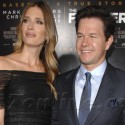Mark Wahlberg Attends The Fighter Premiere In Hollywood With Wife