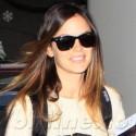 Rachel Bilson Walks Through LAX