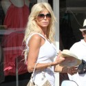 Victoria Silvstedt Heads To The Beach