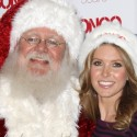 Audrina Patridge Goes Bongo For Santa
