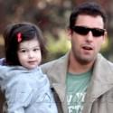 Adam Sandler Takes Sadie And Sunny To Gymnastics