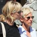 Ellen DeGeneres and Portia de Rossi stroll along St. Barths