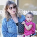 Ellen Pompeo Goes For A Stroll With Stella In Brentwood