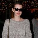 Emma Roberts Shops At Fred Segal On Melrose
