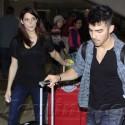 Joe Jonas And Ashley Greene Return From Trip To Orlando