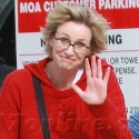 Jane Lynch Gives Us A Wave