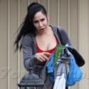 """Nadya """"Octomom"""" Suleman Spends The Holidays At Home"""