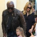 Heidi Klum And Seal Get Into The Holiday Spirit