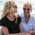 Ellen DeGeneres and Portia De Rosie So In Love!