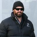 Hugh Jackman Sports A Thick Beard In New York