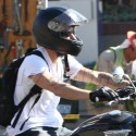 Ryan Phillippe Goes For A Ride