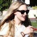 Amanda Seyfried Helps A Puppy In Hollywood