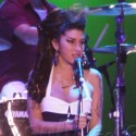 Amy Winehouse Takes The Stage