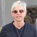 Ellen DeGeneres And Her Porsche