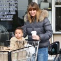 Ellen Pompeo Spends The Afternoon With Daughter Stella