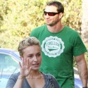Hayden Panettiere And Her Honey Check Out The Football Game