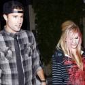 Avril Lavigne And Brody Jenner Dine At Koi