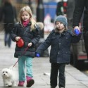 Chris Martin Out With His Kids