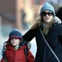 Sarah Jessica Parker Walks To School