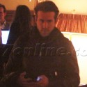 Ryan Reynolds Leaves The Chateau Marmont On His Motorcyle