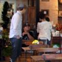 Sandra Bullock Takes Baby Louis To The Bakery