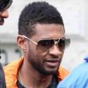 Usher Arrives In Germany For Concert