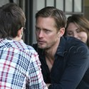 Alexander Skarsgard Lunches With A Pal