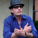 EXCLUSIVE PHOTOS - Charlie Sheen Shows Off Babe Ruth's Ring
